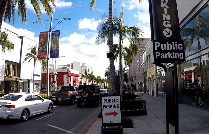 Parking-Publiczny-Rodeo-Drive-California