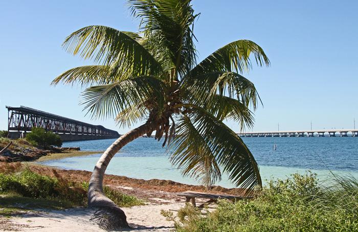 Plaża Bahia Honda przy Key West