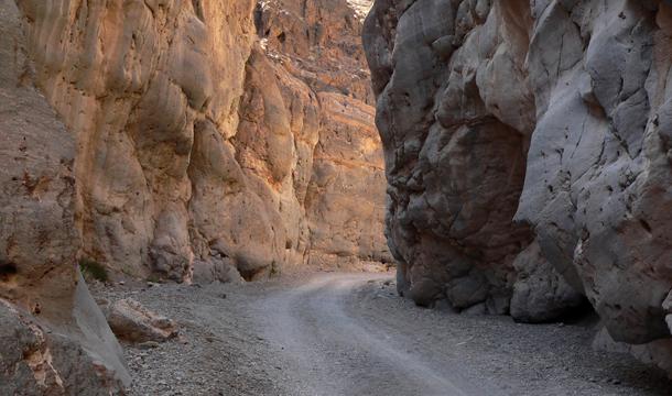 Titus Canyon - wjazd
