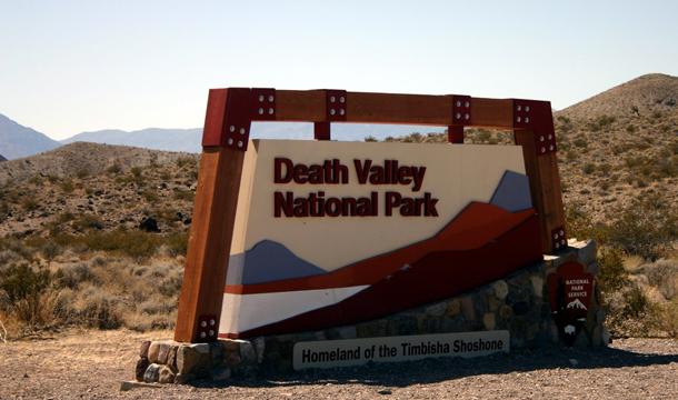 Dolina Śmierci w USA
