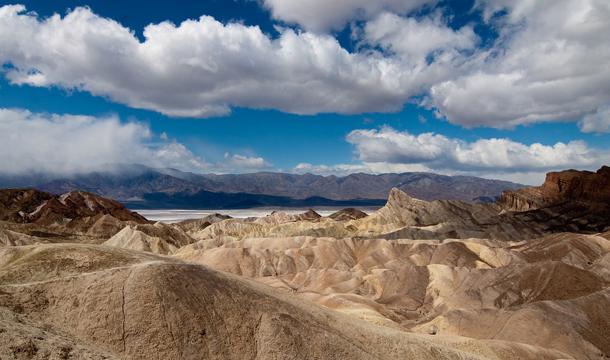 Dolina Śmierci - Punkt widokowy Zabriskie Point
