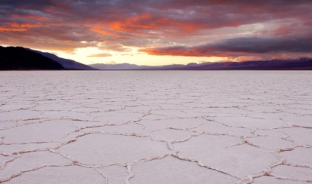 Słone jezioro w Dolnie Śmierci