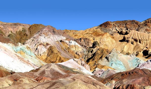 Kolorowe Skały w Dolnie Śmierci: Artists Palette