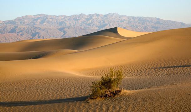 Wydmy w Death Valley