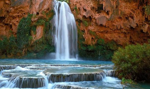 Wodospad Havasu - widok