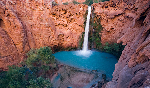 Wodospad Mooney Falls