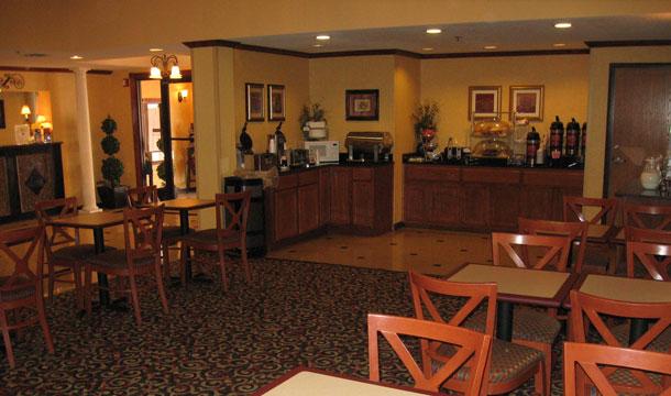 hotel w USA -stołówka