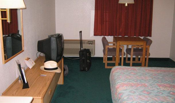 Tani motel w USA