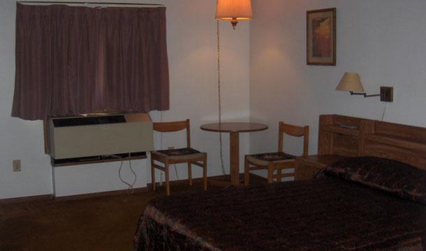 Tani motel w USA -pokój