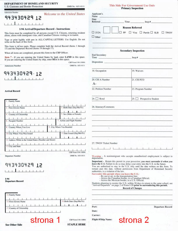 I-94-formularz-wizowy-USA