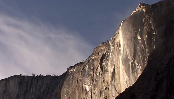 Park Yosemite - wodospad El Captain
