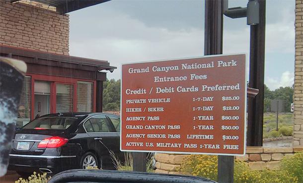 Parki Narodowe w USA - bilet