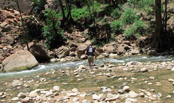 park-narodowy-zion-rzeka