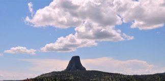 stan Wyoming wieża diabła