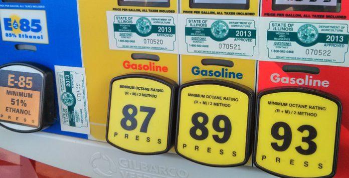 Stacja benzynowa w USA