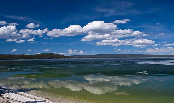 Park-Yellowstone-jezioro