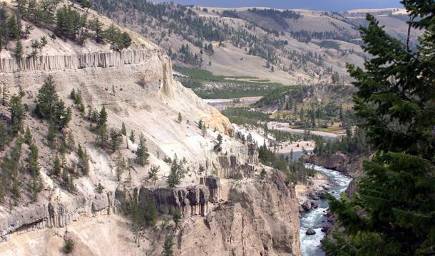 park-yellowstone-zdjecia-wodospad
