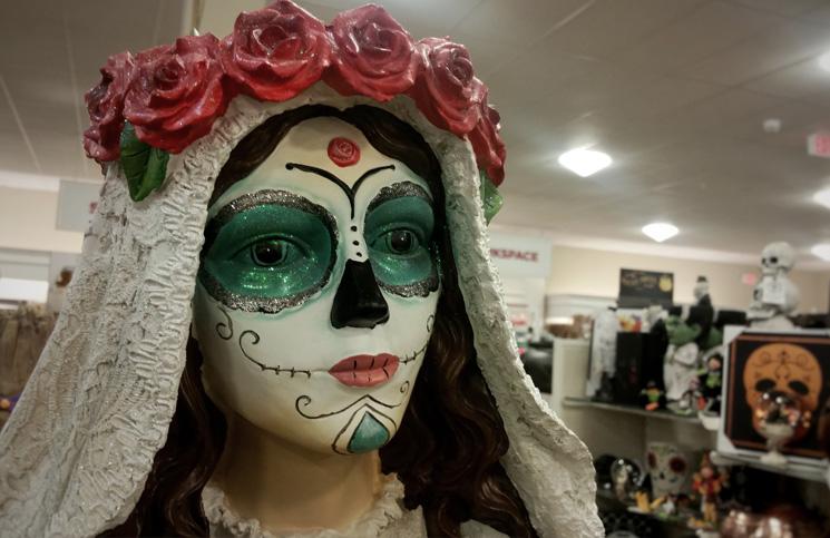 Halloween-USA-Maska i dekoracje