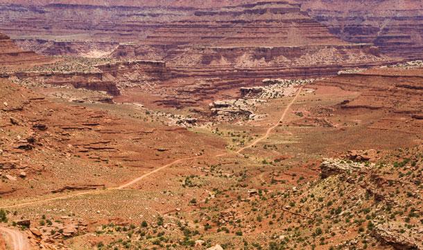widok na kanion