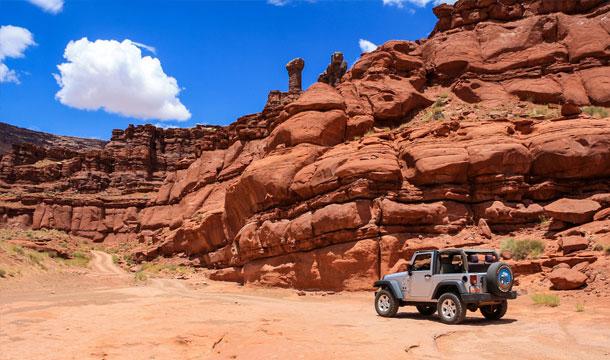 droga off road w Utah