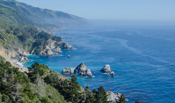 California wybrzeże Pacyfiku