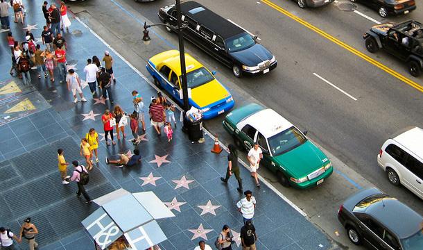 aleja gwiazd w Hollywood