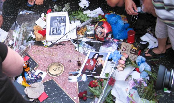 Michael Jackson - gwiazda hollywood