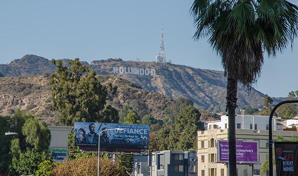 wzgórze z napisem Hollywood