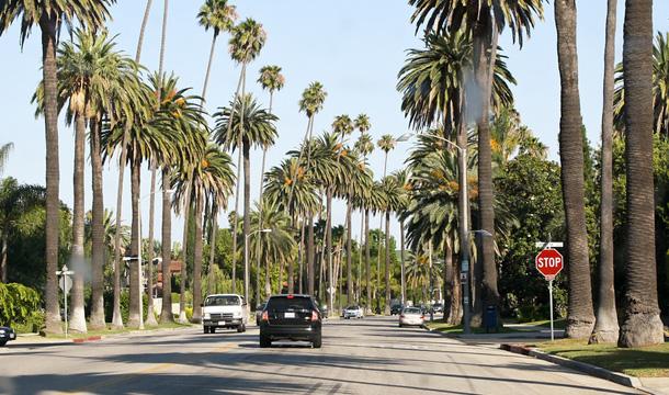 Ulice w Beverly Hills (Kalifornia)