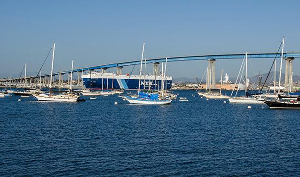 San Diego - most na wyspę Coronado