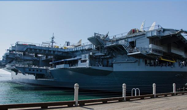 San-Diego-Lotniskowiec-USS-Midway
