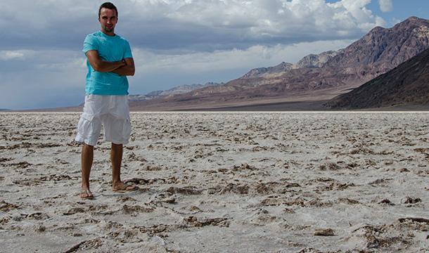 Badwater - Dolina Śmierci