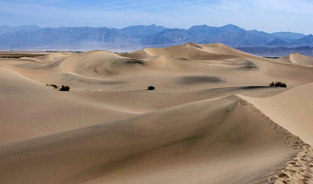 Dolina Smierci: Pustynia