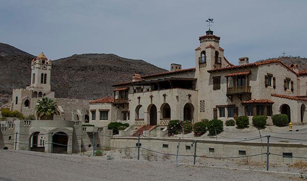 Dolina Śmierci Zamek
