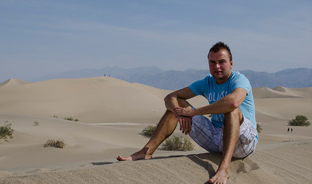 Dolina Smierci Pustynia w Doline