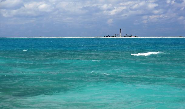 Latarnia morska na wyspie Dry Tortugas