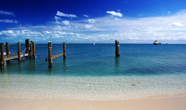 Plaża na Florydzie - wyspa Dry Tortugas