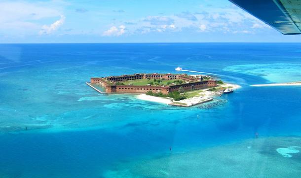 Przelot na wyspę Dry Tortugas