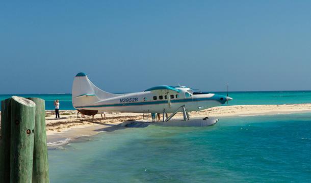 Samolot - przelot na Dry Tortugas na Florydzie
