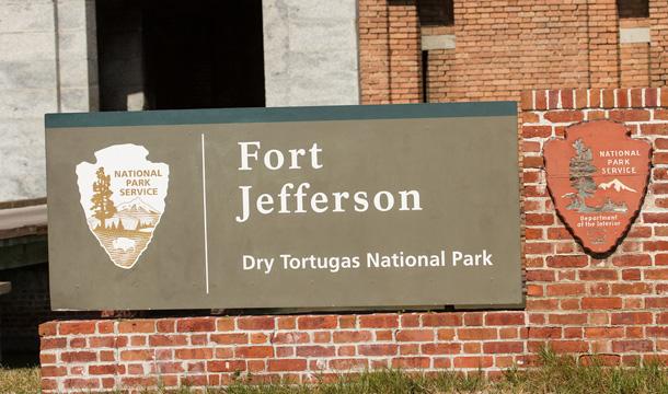 Fort Jefferson - dziedziniec