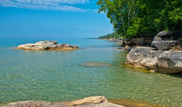 Jezioro Superior - stan Michigan