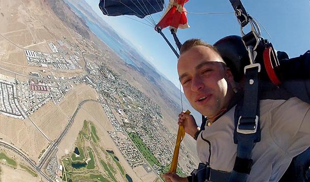 Las Vegas Skok ze spadochronem