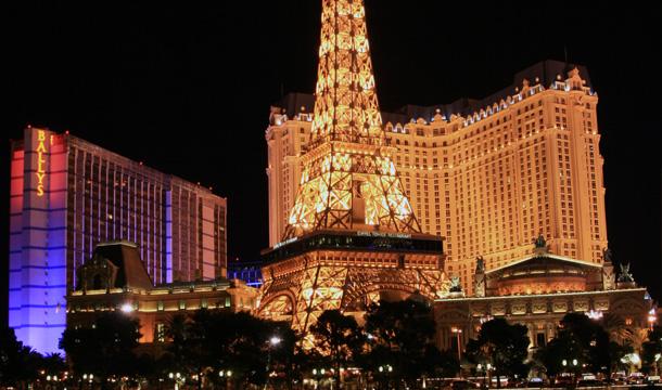 Las Vegas - hotel Paryz
