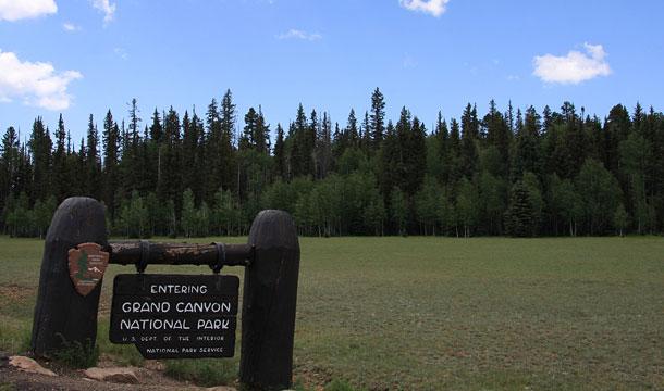 Kanion Kolorado krawedz polnocna