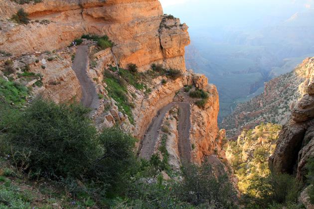 Szlak w Kanionie Kolorado