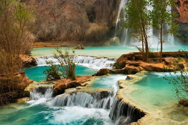 Wodospad w Kanionie Kolorado