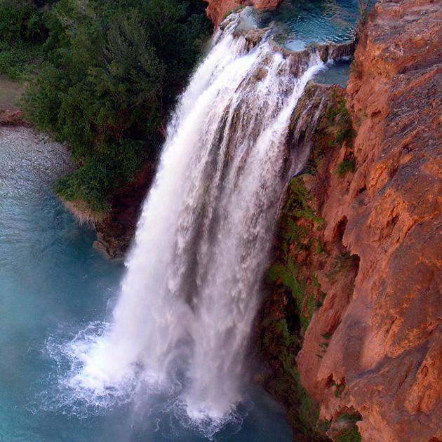 Kanion Kolorado - wodospad
