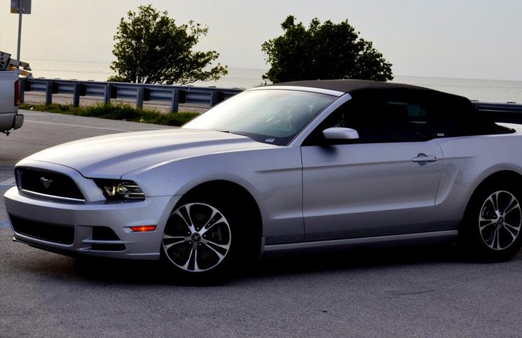 Wypożyczony samochód na Florydzie - Ford Mustang