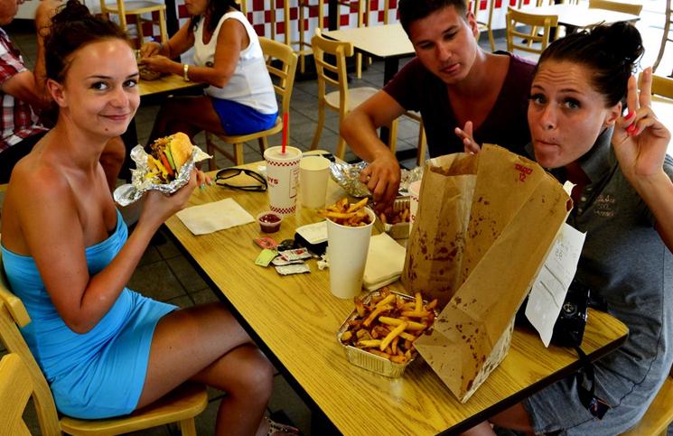 Najlepsze hamburgery w USA!
