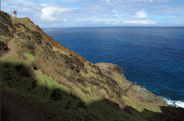 Hawaje-widok-ocean
